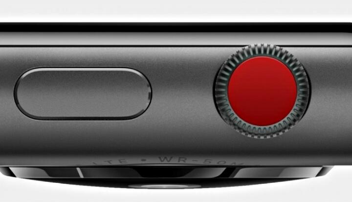 Боковая кнопка Apple Watch может получить технологию Force Touch