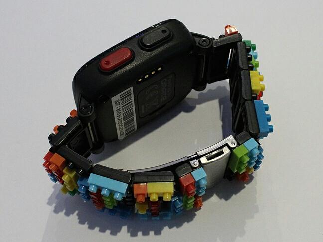 Omate x Nanoblock - кнопки и ремешок