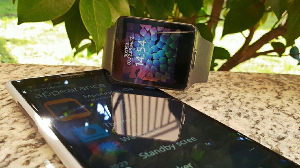 Прототип умных часов Nokia Moonraker