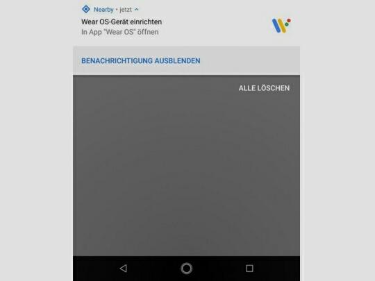 Wear OS утечка скриншот