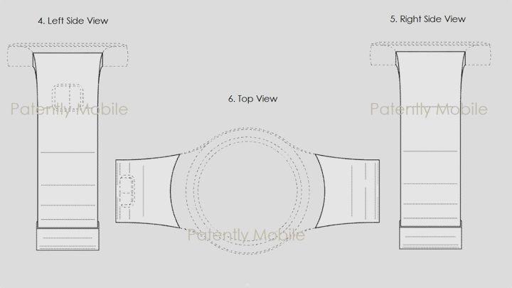 Схема из нового патента Samsung