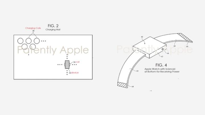 Схема из патента Apple