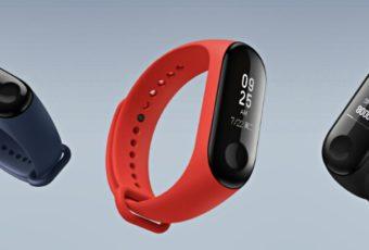 Xiaomi выпустил водонепроницаемый умный браслет Mi Band 3 с NFC
