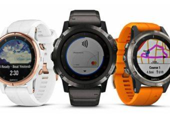 Garmin выпустил новую серию спортивных смартчасов Fenix 5 Plus
