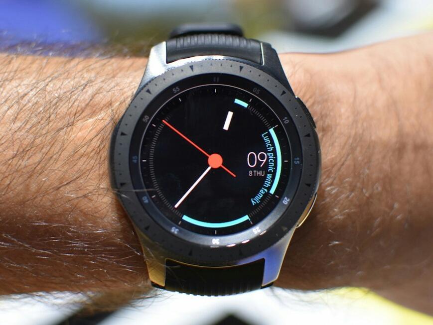 "Циферблат ""Мой день"" в Galaxy Watch"