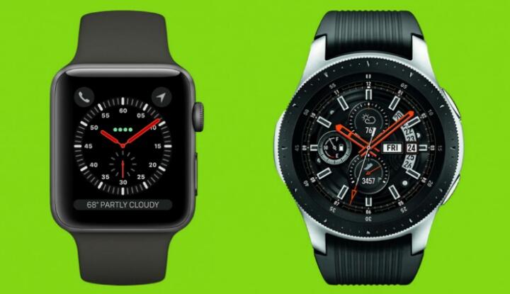 Сравнение флагманских смартчасов Galaxy Watch и Apple Watch