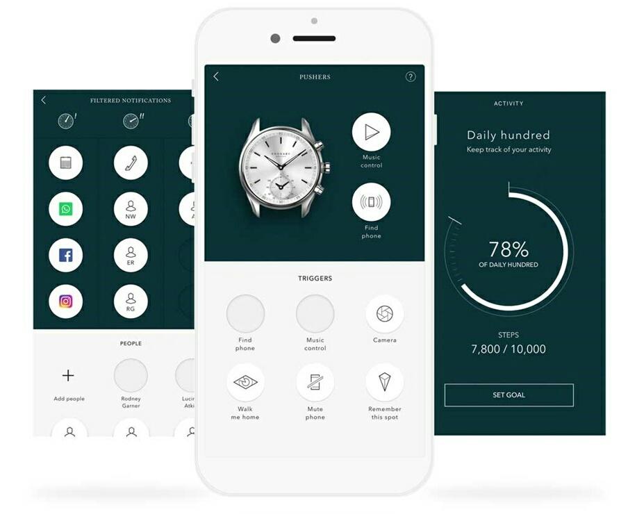 Мобильное приложение Kronaby