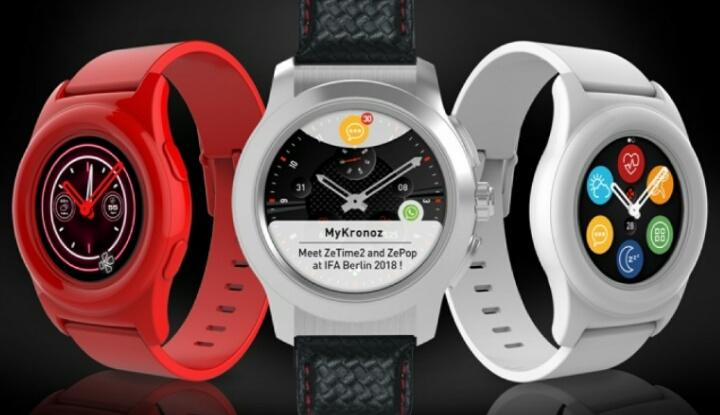 Компания MyKronoz выпустила пару новых смартчасов: ZeTime 2 и ZePop