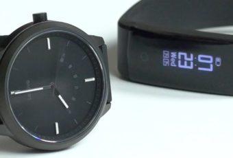 Самые дешевые умные часы и фитнес-браслет от Lenovo