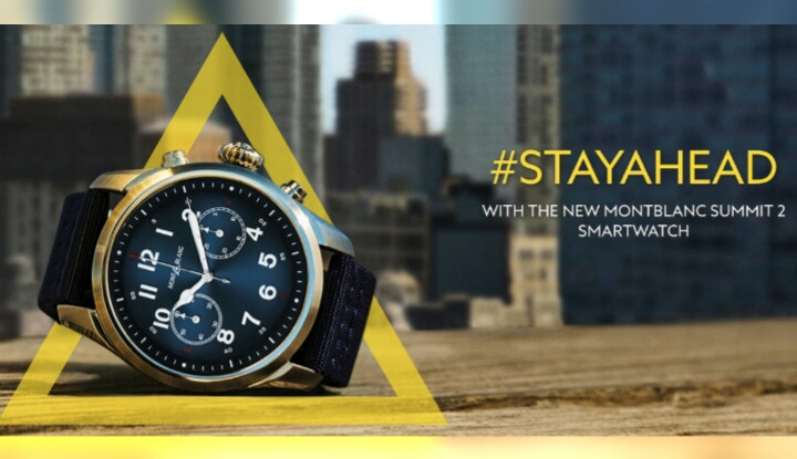 Montblanc выпустил элитные смартчасы Summit 2 - первые в мире с чипом Wear 3100