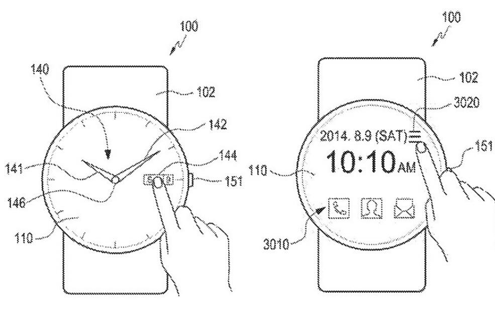 Схемы из патента Samsung