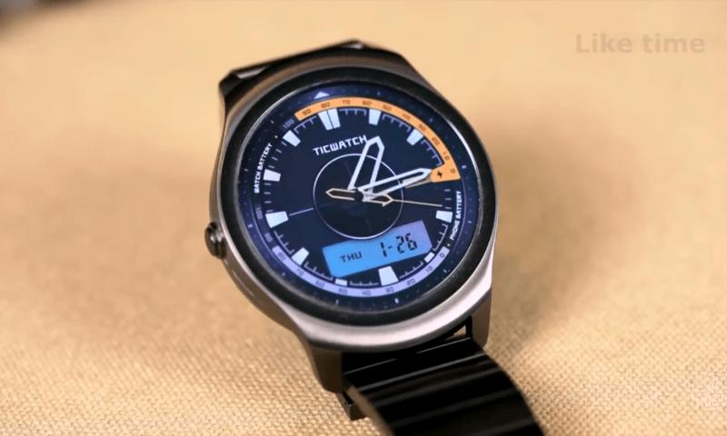 Аналоговый циферблат Ticwatch 2