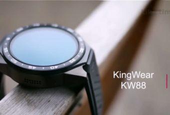 Дешевые китайские смартчасы KingWear KW88 с 3G, GPS и датчиком пульса