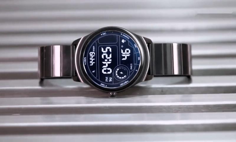 Цифровой циферблат Ticwatch 2