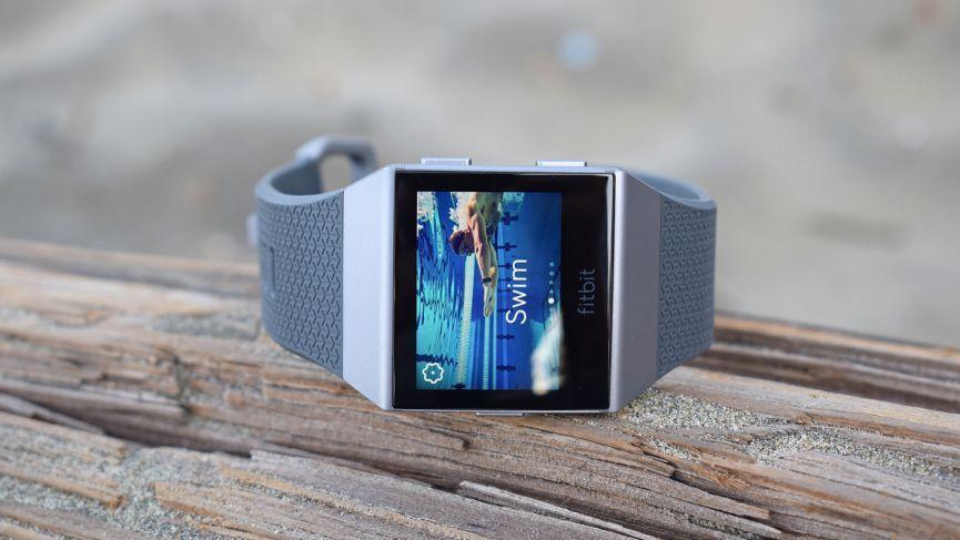 Плавание с Fitbit