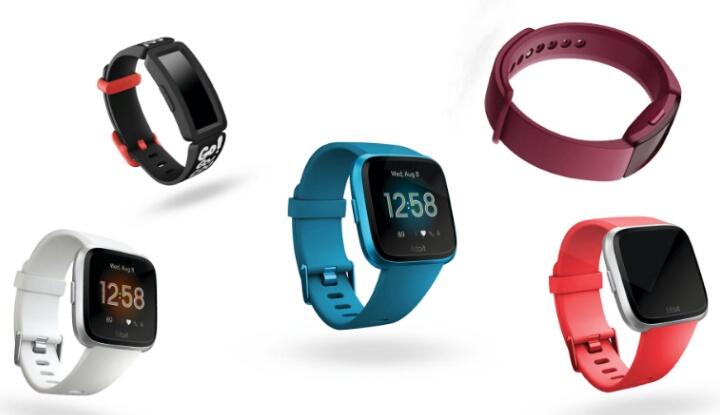 Шикарные трекеры Fitbit