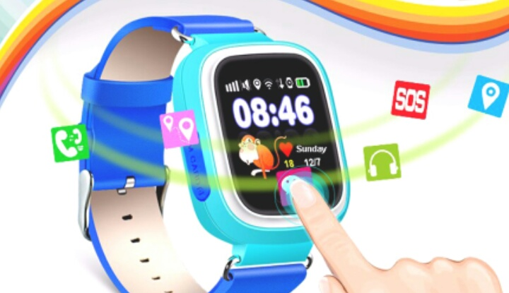 Q90: Качественные дешевые смартчасы с GPS для детей