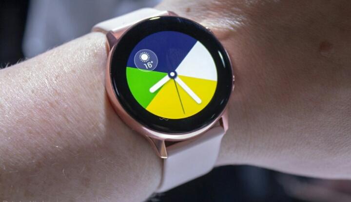 Утечка фотографий 2-го поколения Galaxy Watch Active от Samsung