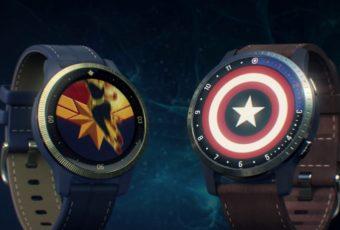 Garmin выпустил смартчасы Legacy Hero с супергероями Marvel