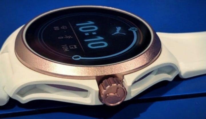 Puma выпустила свои первые смартчасы с GPS, датчиком пульса, WearOS