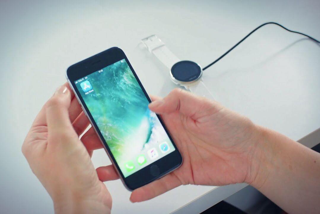 Мобильное приложение для Polar Ignite