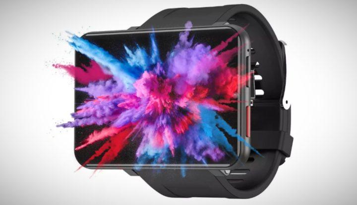 Часы LEMFO LEM T с самым большим экраном и 4G поступили в продажу