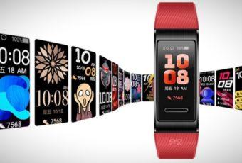 Huawei Band 4 Pro уже скоро поступит в продажу по цене в 399 юаней (3'600 рублей)