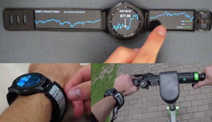 Немецкие учёные создали OLED-ремешки для Galaxy Watch