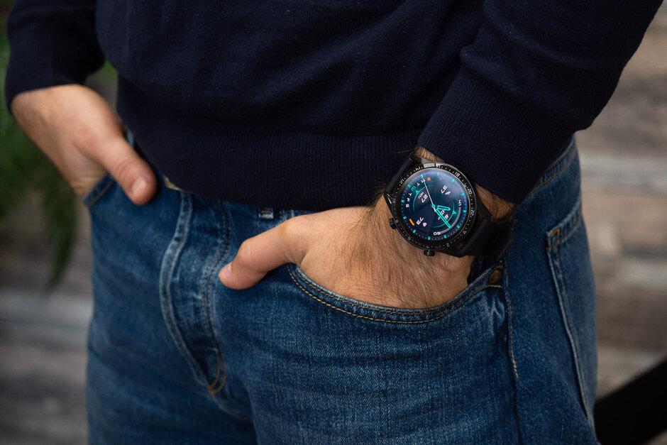 Watch GT 2 на руке