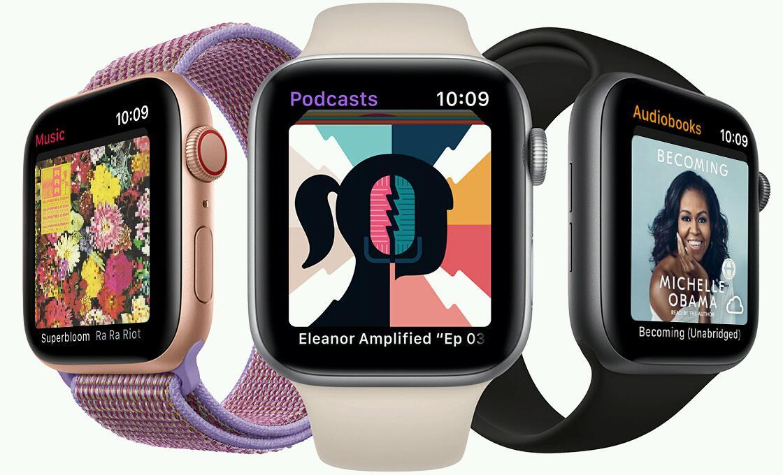 Аудиокниги на Apple Watch