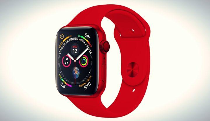 Красные смартчасы Apple Watch могут поступить в продажу этой весной
