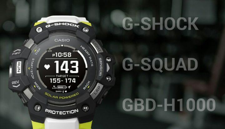 G-Squad GBD-H1000 - крутейшие часы Casio с датчиком пульса и фотонным генератором