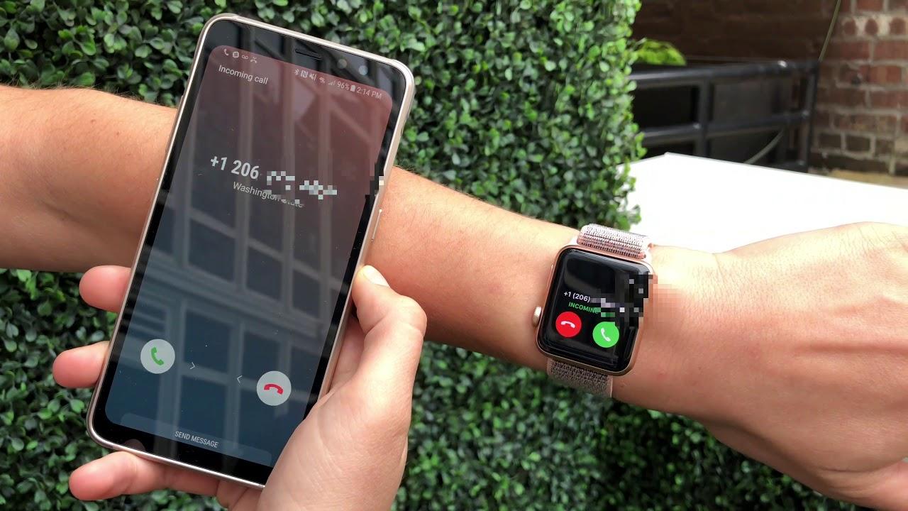 Подключение Apple Watch к телефону на Android