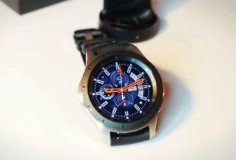 Samsung выпустит титановую версию Galaxy Watch 2