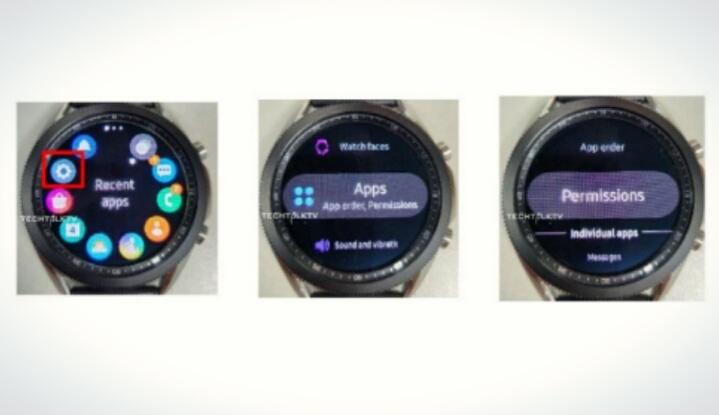 Новые реальные изображения Galaxy Watch 3