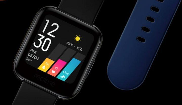 Представлены дешёвые смартчасы Realme Watch с огромной автономностью