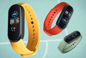 Xiaomi продемонстрировал новые постеры фитнес-браслета Mi Band 5