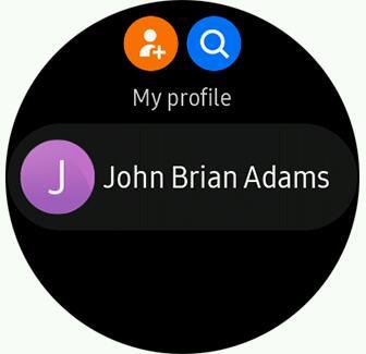 Личный профиль в Контактах