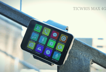 Огромные смартчасы Ticwris Max с 4G и камерой на 8 Мп — новое безумное изделие из Китая