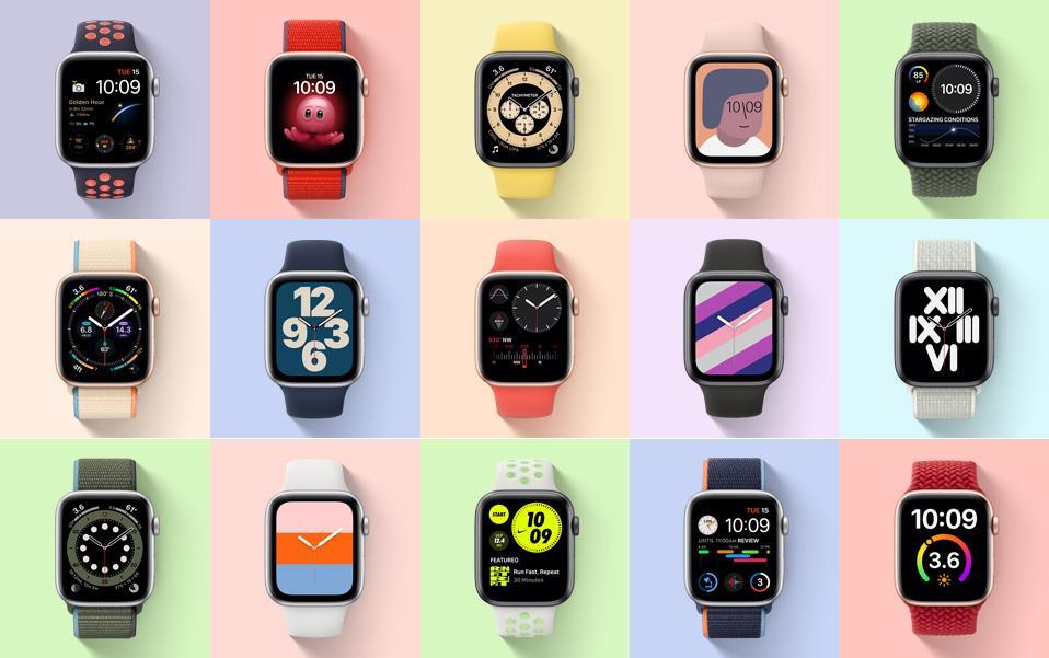Циферблаты Apple Watch SE
