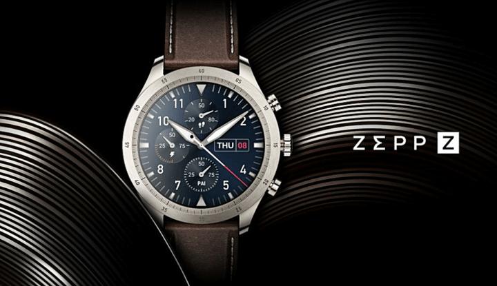 Титановые смартчасы Zepp Z — технологии Amazfit в дорогой упаковке