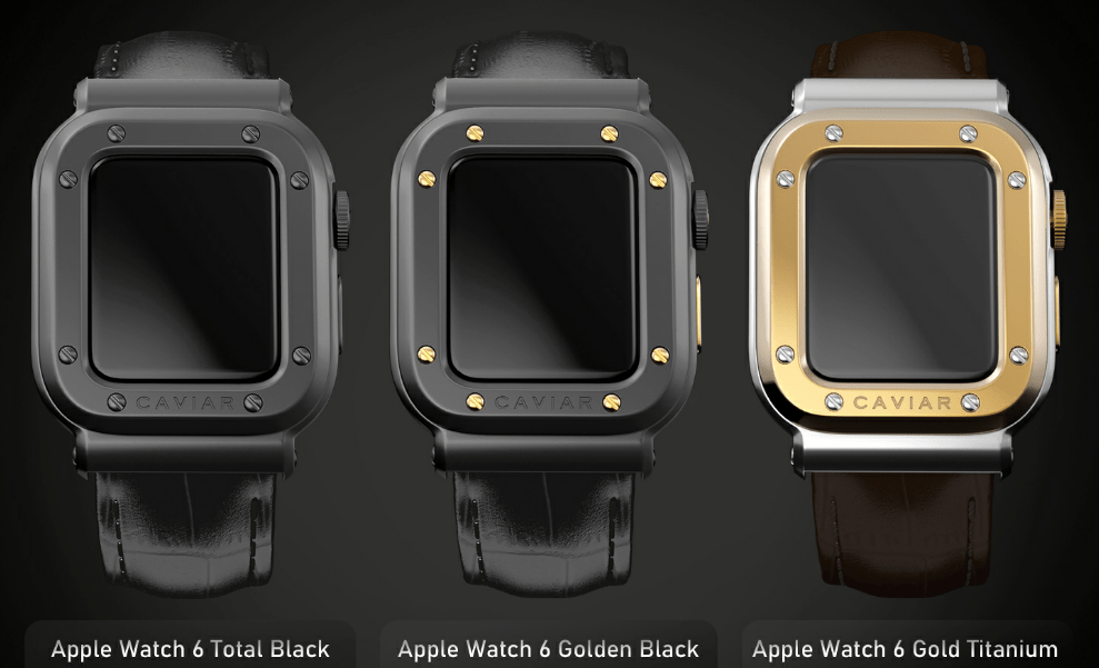 Caviar Apple Watch 6