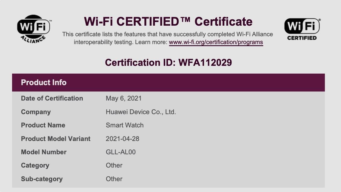 Утечка о Huawei Watch 3