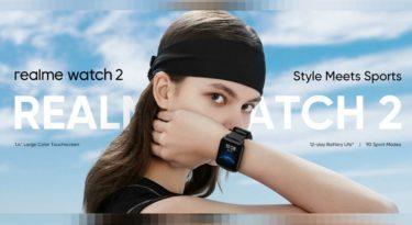 Realme Watch 2 — новые ультрадешёвые часы с SpO2 и автономностью 12 дней