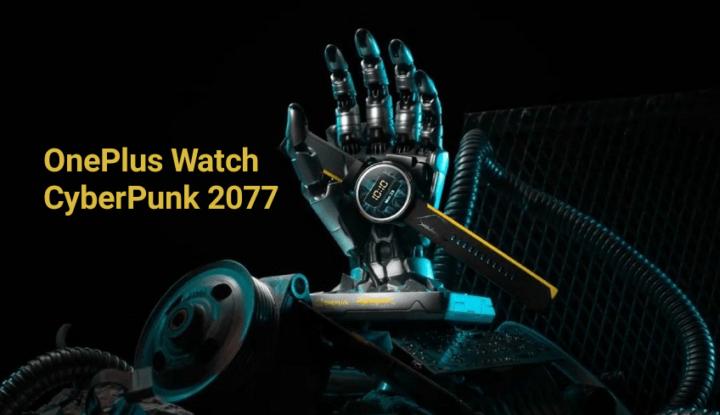Представлены смартчасы OnePlus Watch в стиле CyberPunk 2077