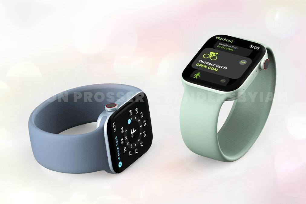 Зелёные Apple Watch 7
